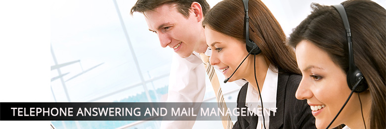 Telephone answering and mail management