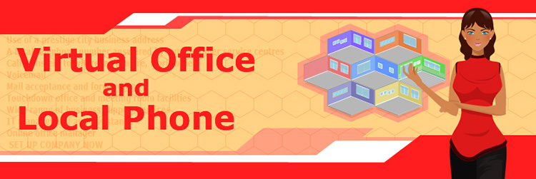 Virtual office and Local phone